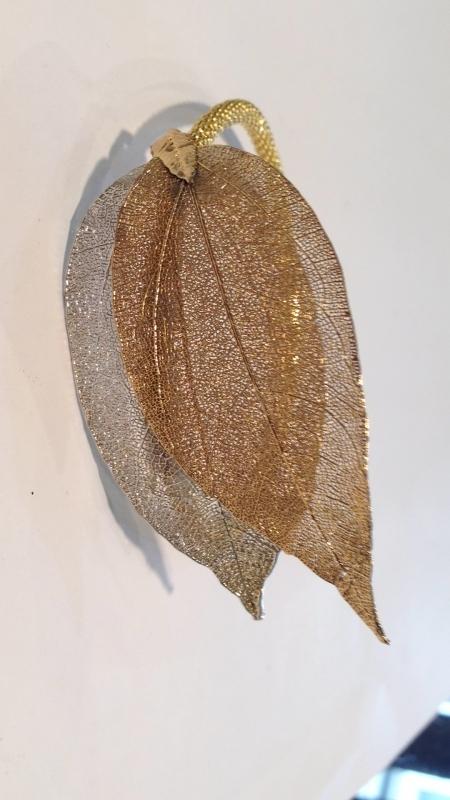 brazalete hojas